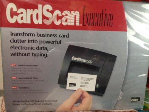 Driver corex cardscan 500