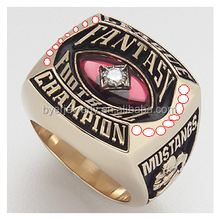 wholesale cheap fantasy football championship ring fantasy ring
