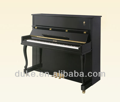 Professional musical instruments upright Piano 121M1(A-L) with ebony keyboard