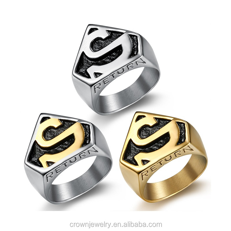 Fashionable wholesale men ring hiphop jewelry micro paved maple leaf luxury diamond gold rings