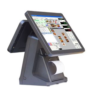 Hot Selling Dual POS System Vending Pos System Touch Screen Ordering System POS1520win