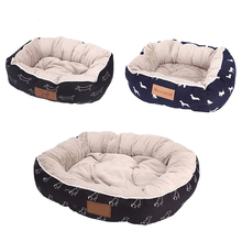 Popular luxury cheap washable cooling dog beds for big large dogs