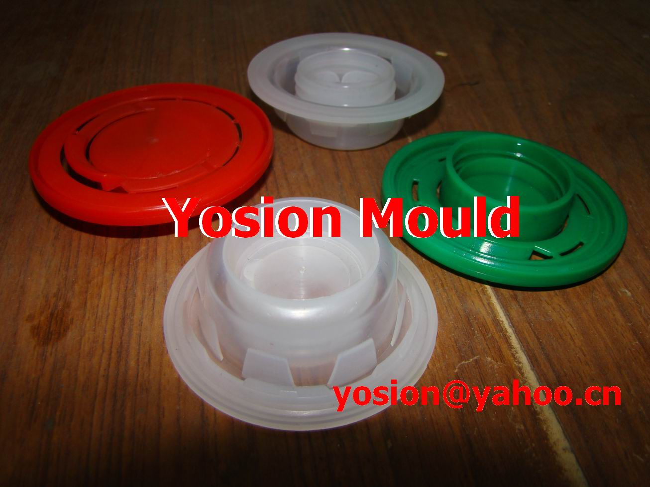 Plastic injection motor oil presser cap mould