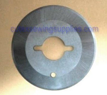 "Cutex Brand 2-1/4"" Round Blade for Eastman Chickadee D2 Electric Rotary Fabric Cutters"
