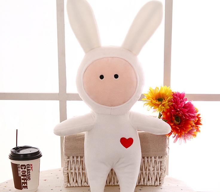 Buji rabbit toy bunny children's gifts long ear rabbit plush soft toy
