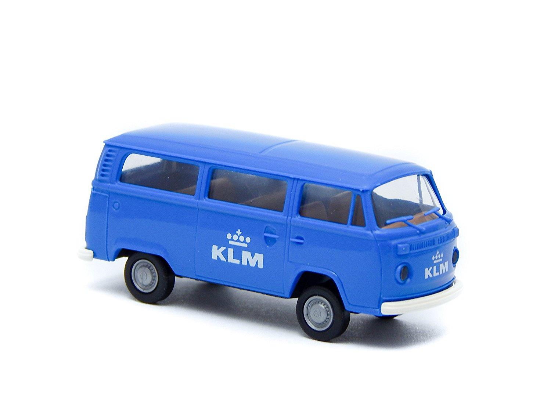 "Volkswagen T2 Bus ""KLM Royal Dutch Airlines"" 1:87 2-inch Model Car"