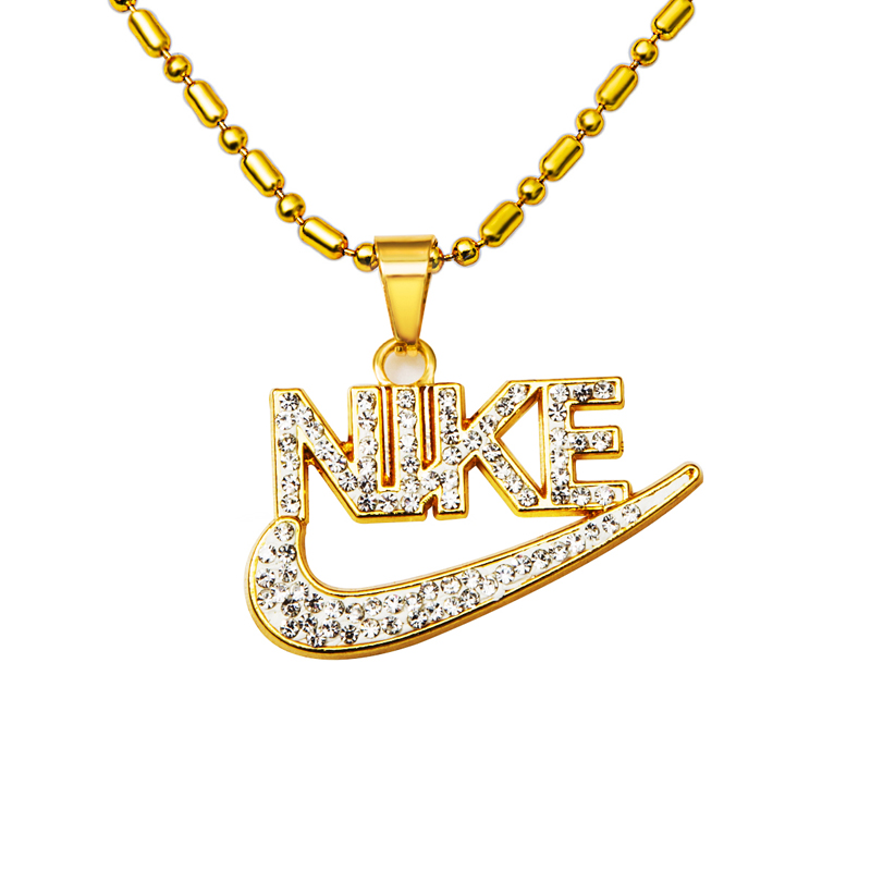 2015 Hot 18K Gold Plated Sparkling CZ Diamond Necklaces ...