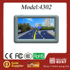 Best selling!Touch screen GPS 4.3 inch gps navigator WINCE6.0