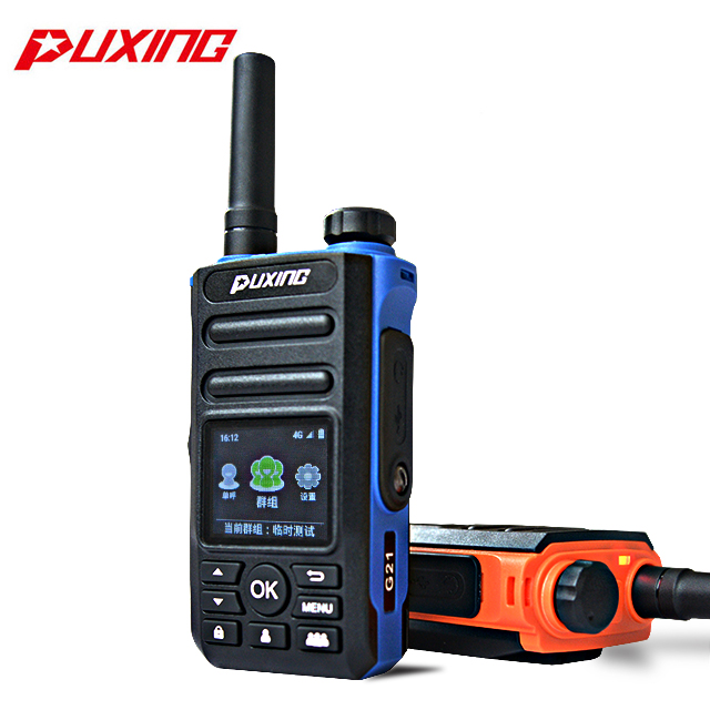 PUXING G21 4g Android RealPTT/Zello telefone LTE rádio em dois sentidos, WIFI GPS walkie talkies