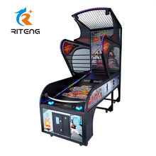 Coin indoor amusement street basketball arcade game machine electronic basketball game machine electronic games