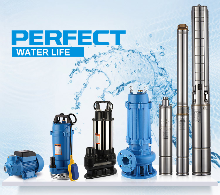 3HP 3PH Submersible Water Pump