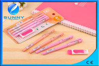 high quality colourful temperature controlled gel pen with eraser