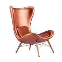 Antique french style Leather Leisure replica chair furniture hotel furniture and home use