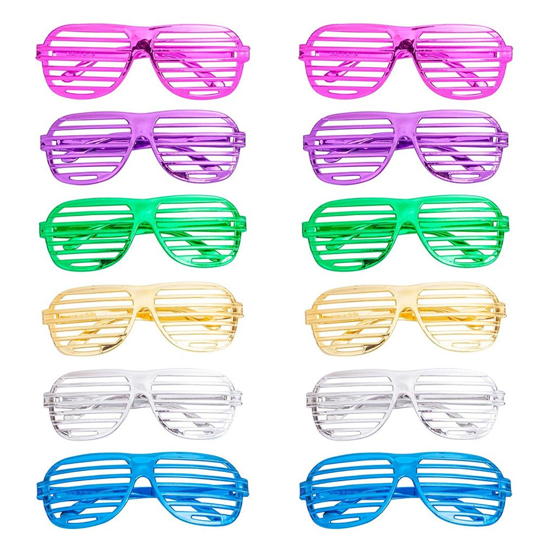 8dce431816e Get Quotations · 12Pcs Party Eyeglasses