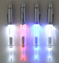 led light torch ballpoint pen