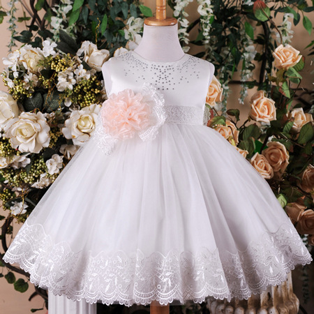 Children's princess kids bridal dresses for kids evening party