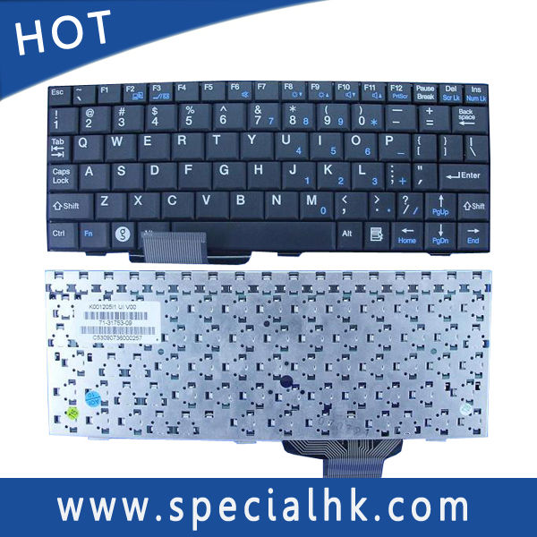 For ASUS EPC 700 701 900 Laptop Keyboard K001205I1 71-31753-09