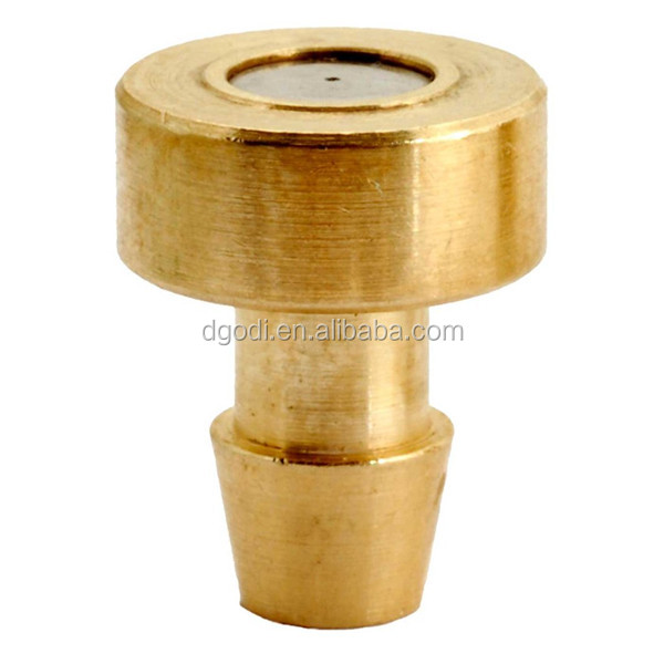 Custom made CNC top quality high pressure brass multi water mist spray nozzle