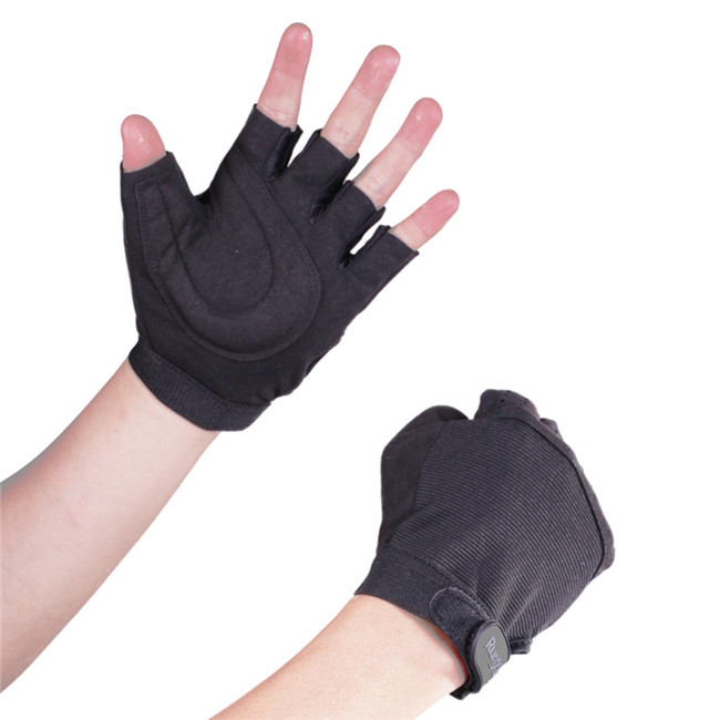 Modieuze sport handschoenen half gecoat handschoenen