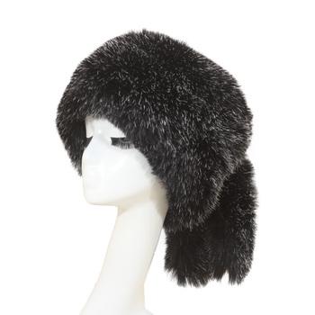 Silver Fox Fur Ushanka Hat Faux Fur With Fox Tail Hat Factory Price ... 9788f27d6d2