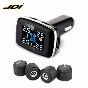 Digital TPMS Tool Tire Basic TPMS, Tire Pressure Monitoring System for 4 Wheels, Most Economic TPMS in 2018