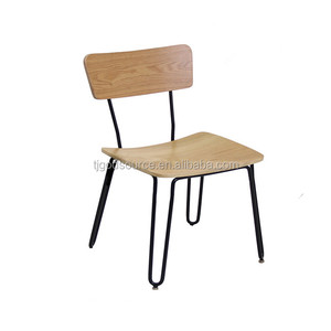 cheap restaurant used modern design indoor metal chair