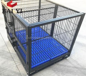 Portable Soft Dog Kennel Pet Porter Kennel With Plastic Flooring and Top Opening