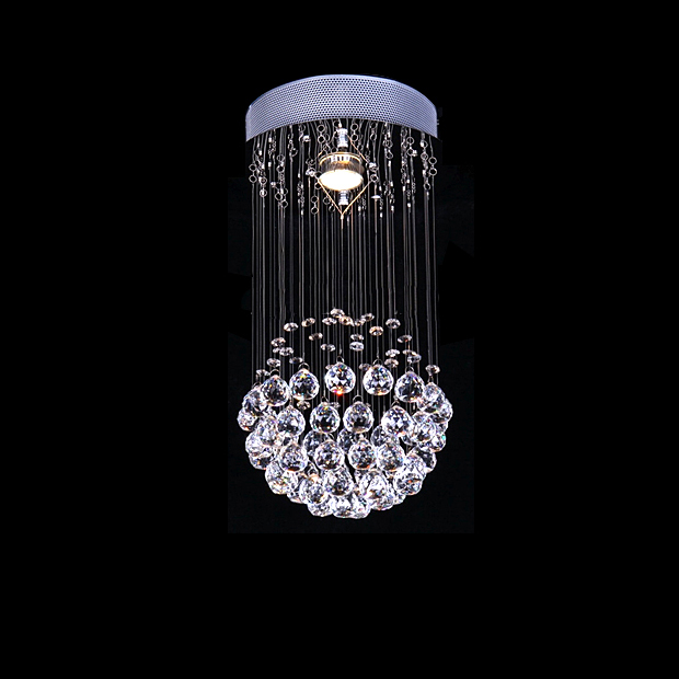 Free sample DY001 Luxury Bright Crystal Chandeliers Modern Ceiling Lamps Dinning Room Lighting