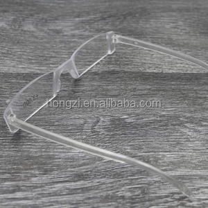 Presbyopia +1.00-4.00 Diopter Eyeglasses Clear Rimless Reading Glasses man reading glasses to convex glass