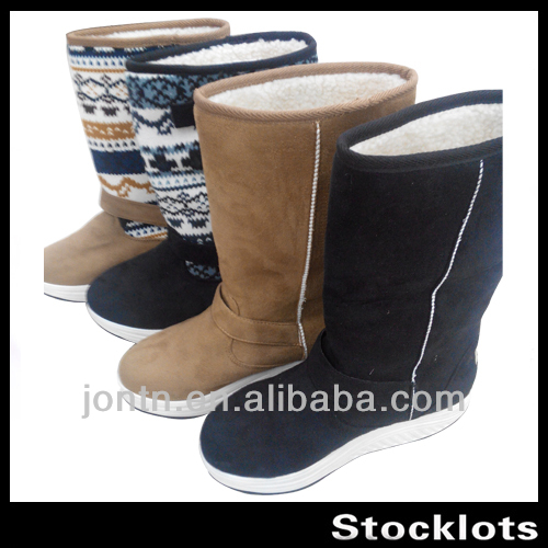Stock Women swing boots