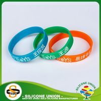 Cheap fashion sunshine design silicone bracelets