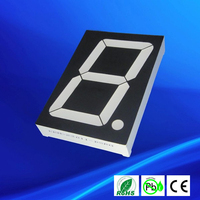 2.3 inch seven segment 1 digital 7 segment digital led numeric display