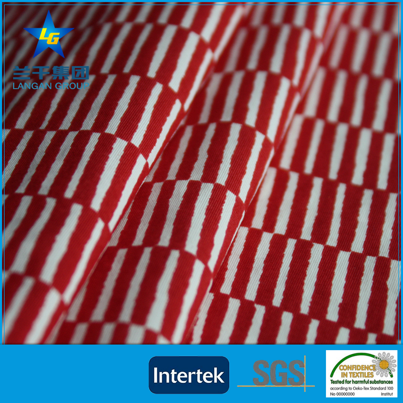 Super Quality Durable different types of custom fabric printing Peach Skin Fabric
