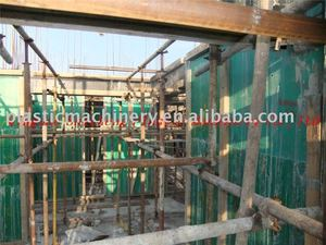PP/PE five-layer plastic construction formwork