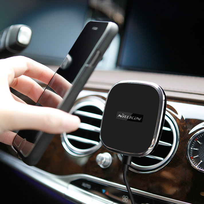 Magnetic wireless car charger Nillkin air mobile wireless charger for car фото