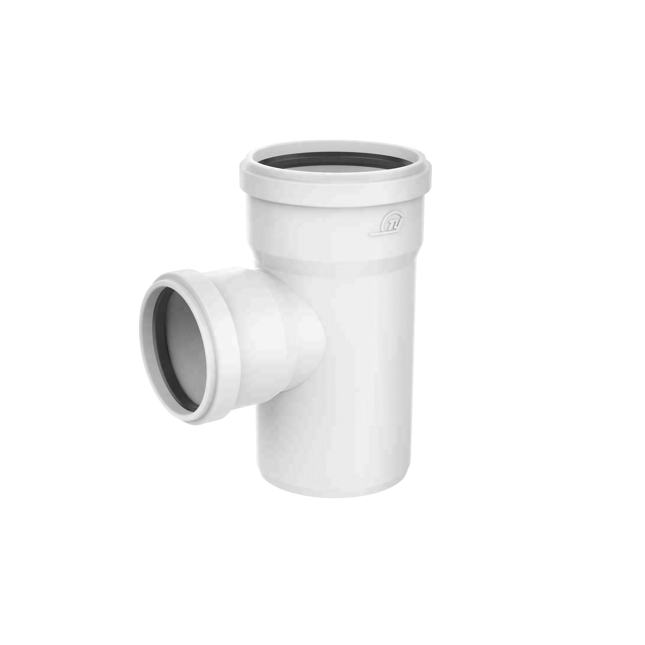 PVC UPVC Plastic hdpe drainage Rubber Joints pipe fittings socket weld Reducing Tee
