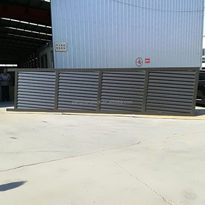 White&Black, More Color to Choose, Aluminum Louver Gate