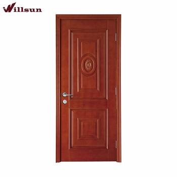 Square Circle Panel Wood Door Interior Bedroom Door Design Buy