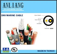 DNV/UL approved 2core PVC coated boat insulated enameled electrical copper cable wire