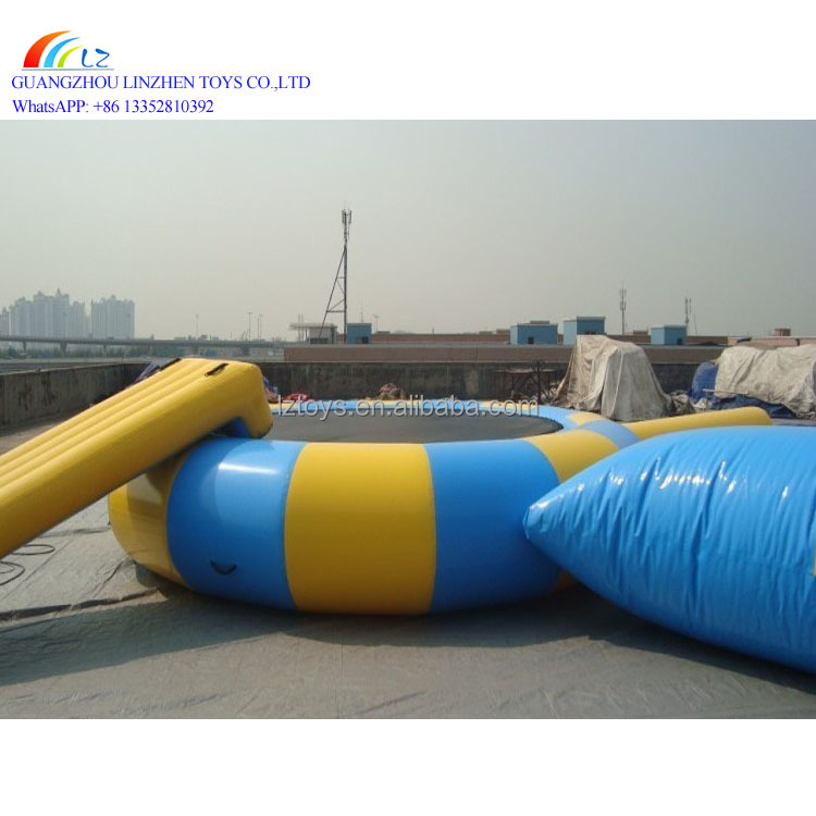 Inflatable Jumpoline Bouncer For Water Park/inflatable water bouncer