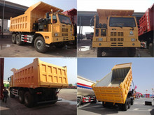 Howo mine dump truck 50 tons, china mine dump truck, 10 wheels dump truck.