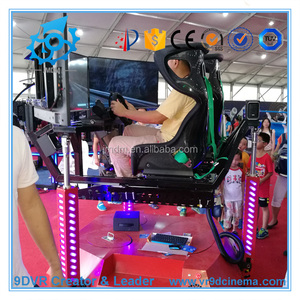 4 DOF electric car racing simulator with new car racing games online play