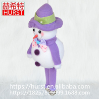2017 Best Seller Top Quality Merry Christmas Lovely Snow Man Hanging Christmas Tree