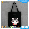 China personalized cheap logo shopping canvas tote cotton bag