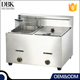 2 TanK Double Basket Automatic Professional Heavy Duty Commercial Deep Fryers