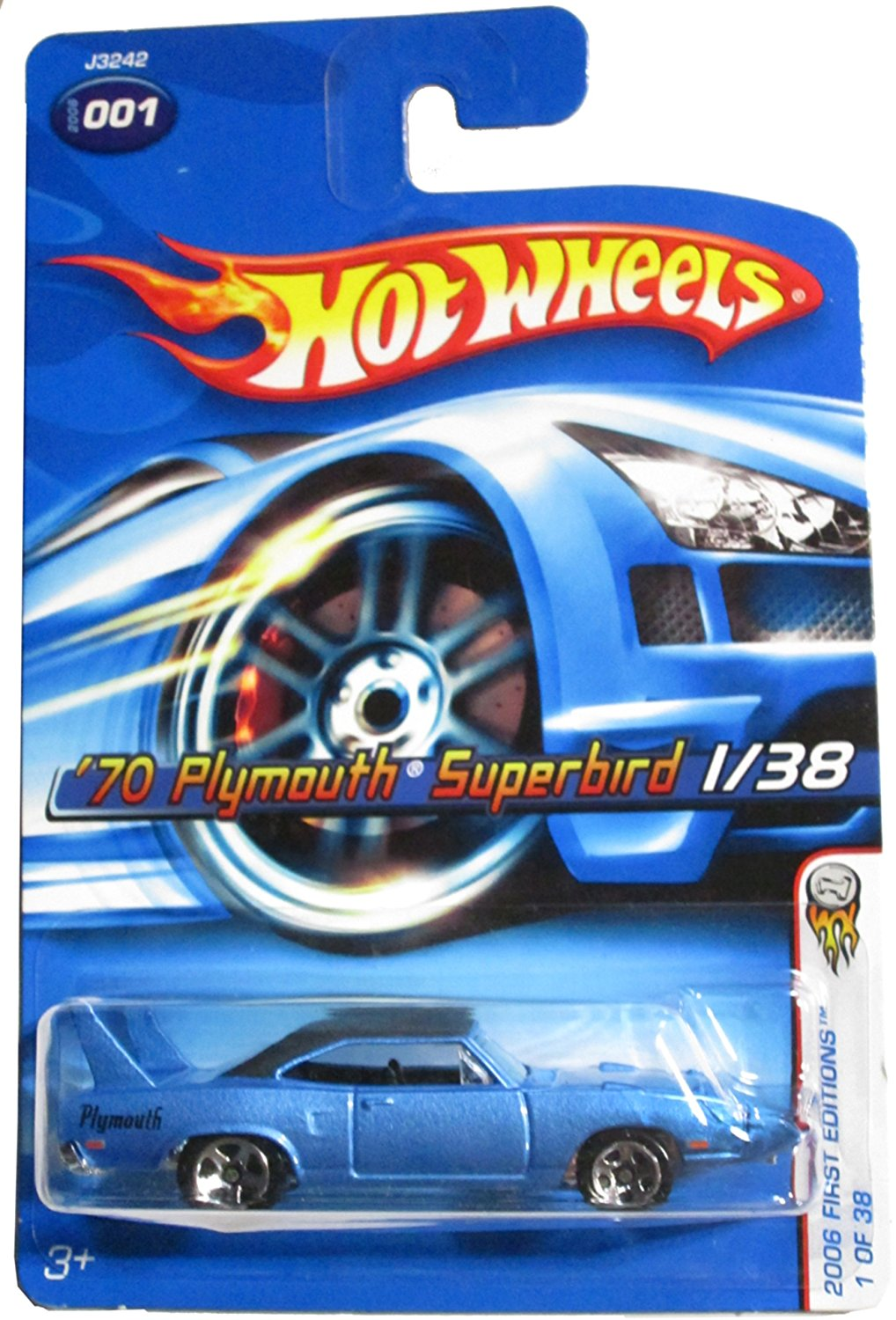 Cheap 1970 Plymouth Superbird For Sale Find Fog Lights Wiring Diagram Get Quotations Mattel Hot Wheels 2006 164 Scale Blue Die Cast Car