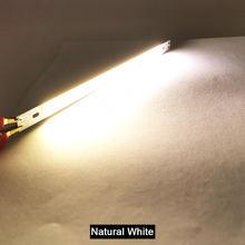 200 мм Светодиодная лампа 12 В Cob Светодиодная лампа 10 Вт синий красный зеленый Теплый Холодный белый цвет светодиодное освещение для автомоби...(Китай)