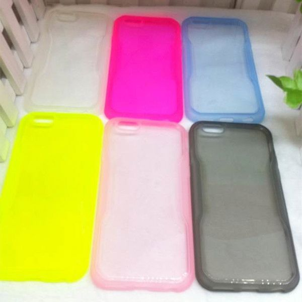New arrival soft TPU case back cover for Huawei Ascend P7 mobile phone aceessory