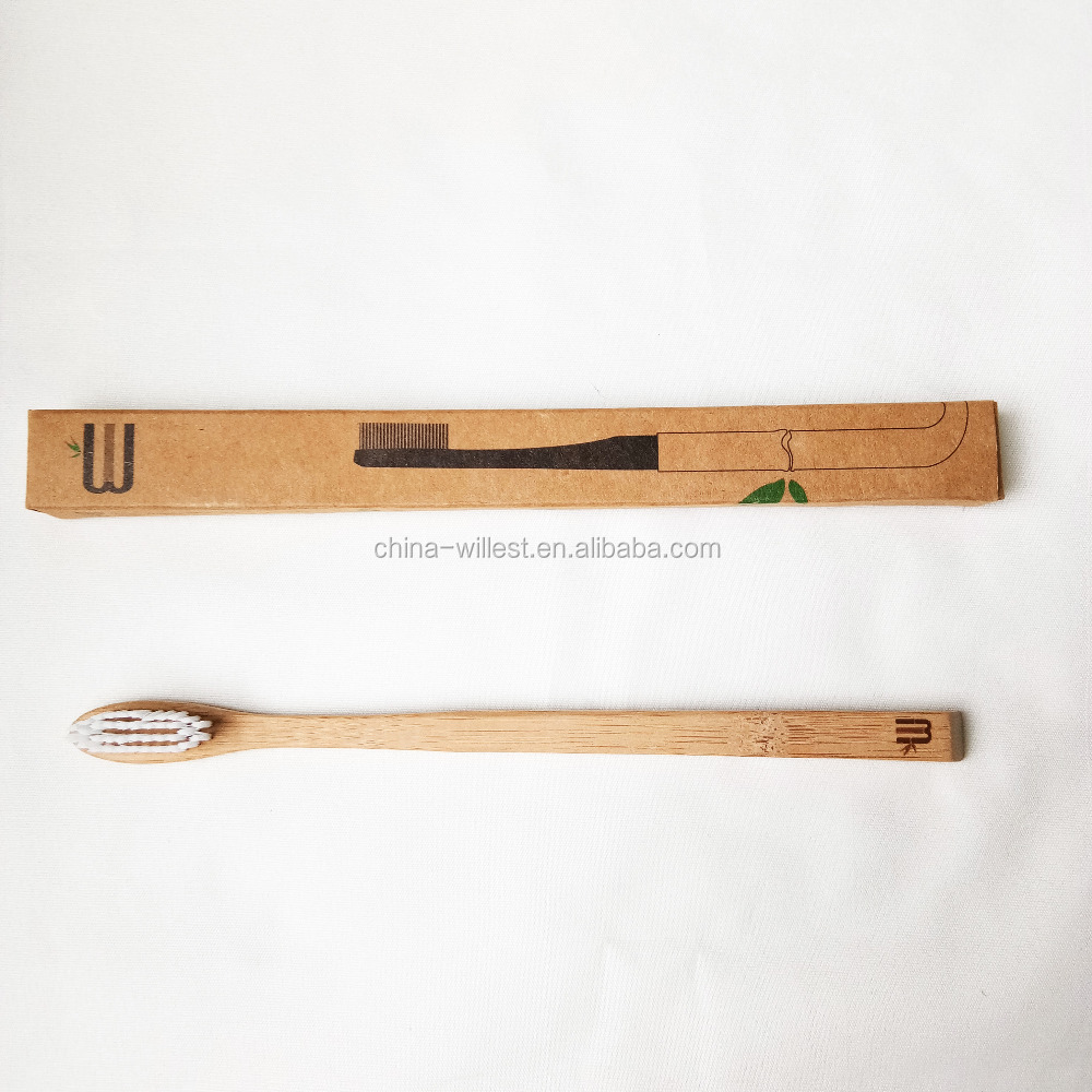 Eco-friendly bamboo toothbrush-100% Biodegradable