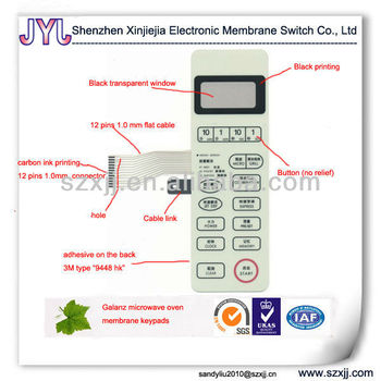 galanz microwave oven membrane keypad switch buy. Black Bedroom Furniture Sets. Home Design Ideas